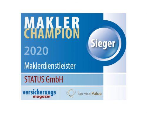 STATUS ist Makler-Champion 2020