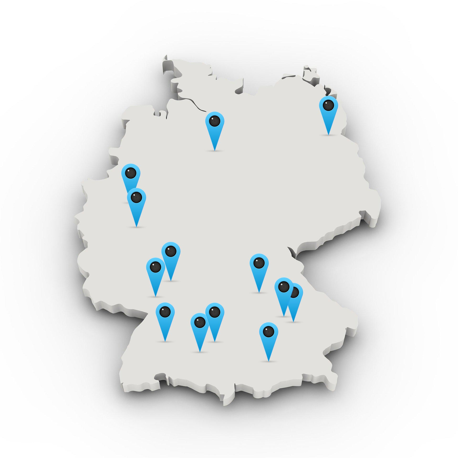 Karte Maklerbetreuer für Maklerverbund