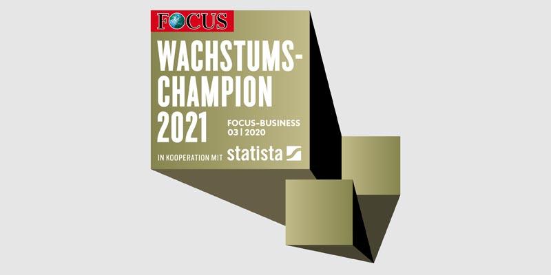 STATUS GmbH FOCUS Wachstumschampion 2021