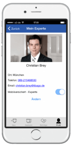 App Versicherung