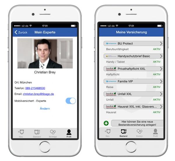 Maklersoftware: Emdkunden-App