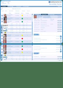Verwaltungsplattform Versicherungsmakler